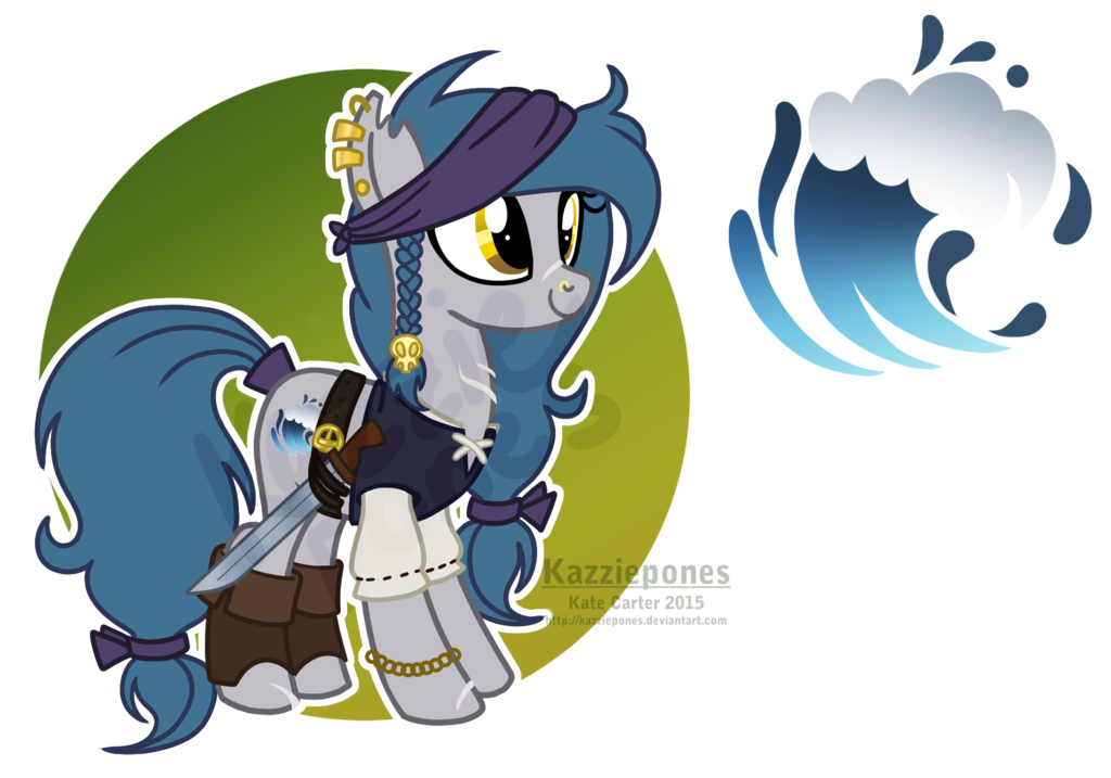 Mlp oc rider by. Clipart wave river wave