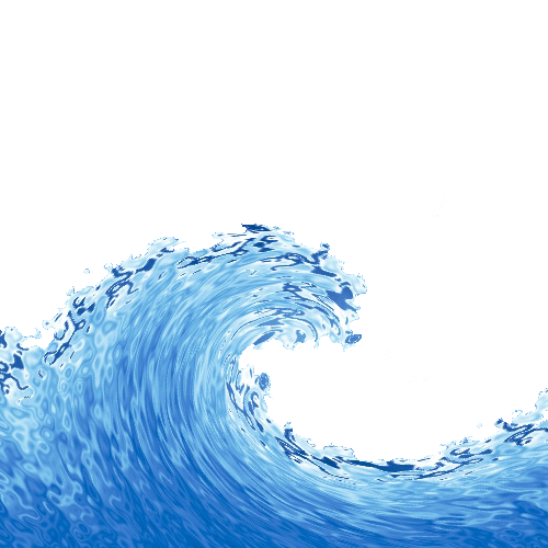 Wind ocean sea the. Waves clipart rolling wave