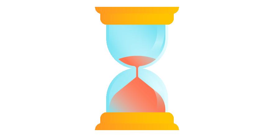 Estimation best practices with. Hourglass clipart broken