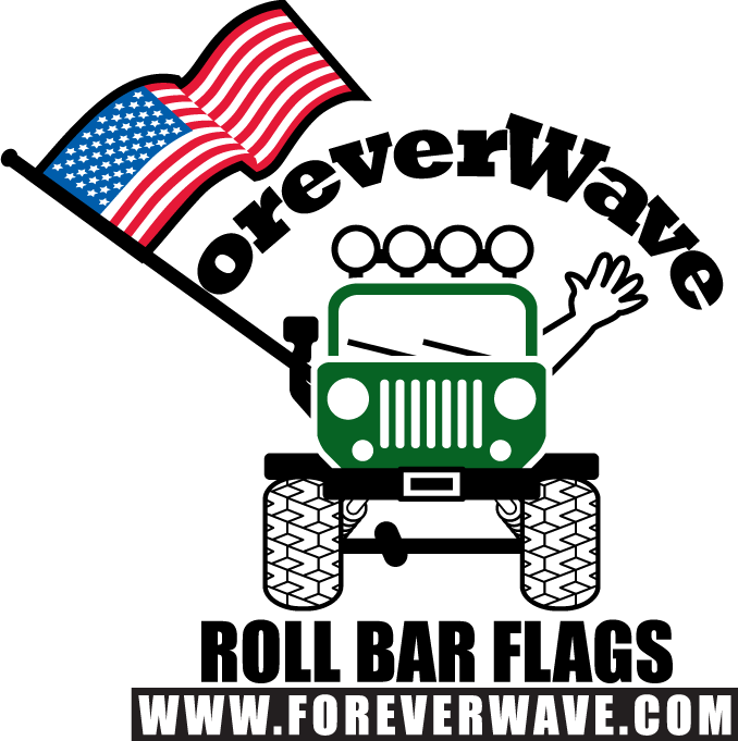 Forever roll bar flags. Clipart wave rolling wave