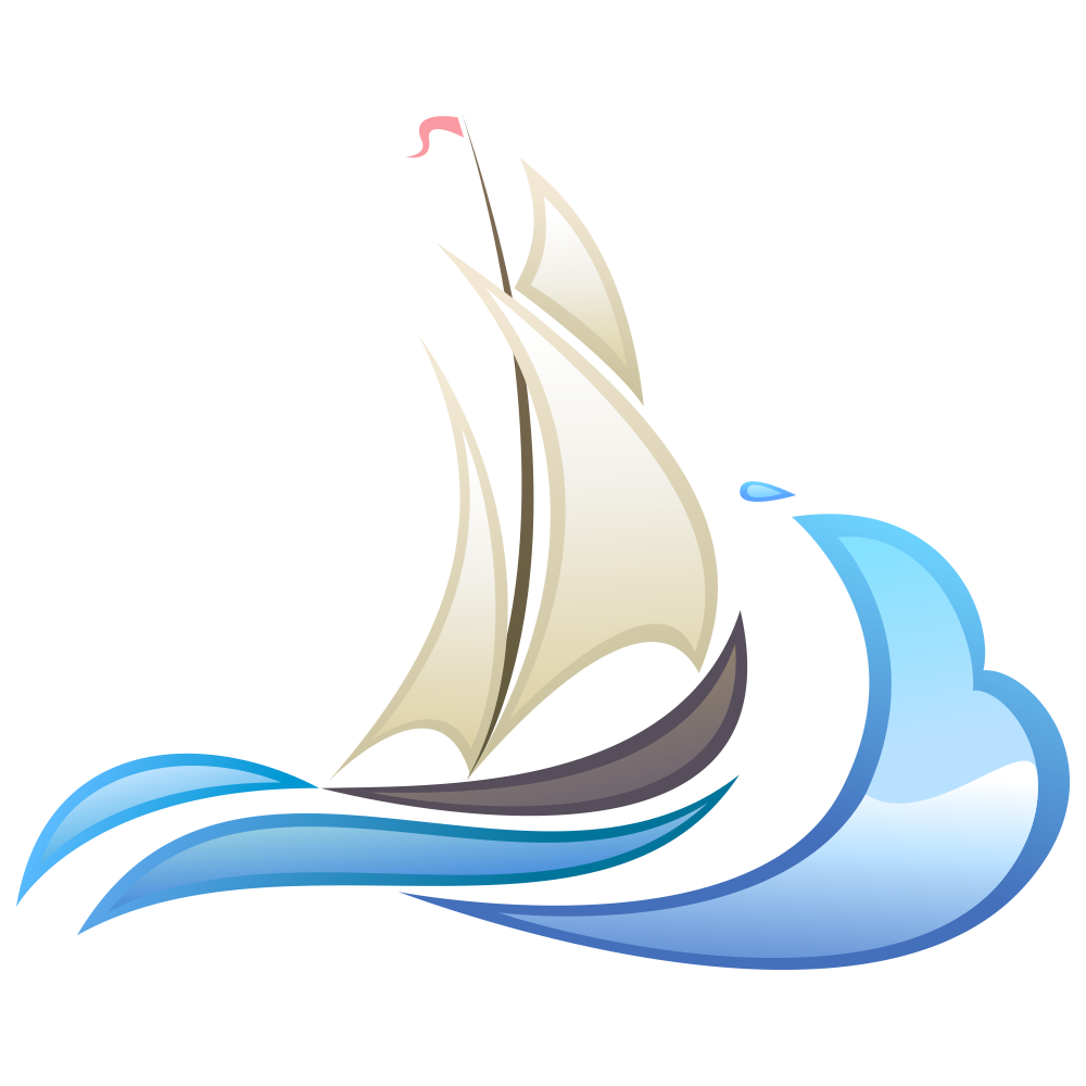 Water clipart wave. Wind logo clip art
