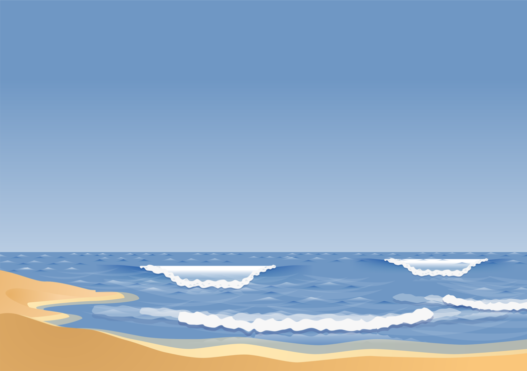 Clipart waves sand. Blue wind wave atmosphere