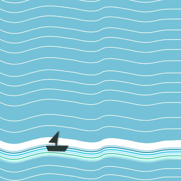 Free nautical wave scrapbooking. Clipart waves scrapbook