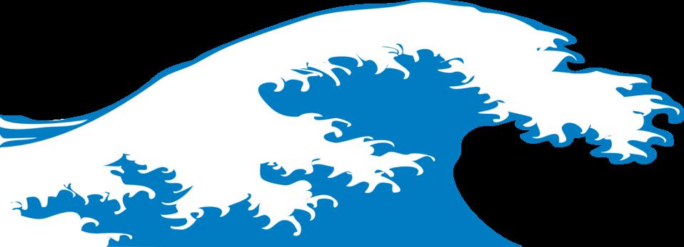 Public domain clip art. Waves clipart file
