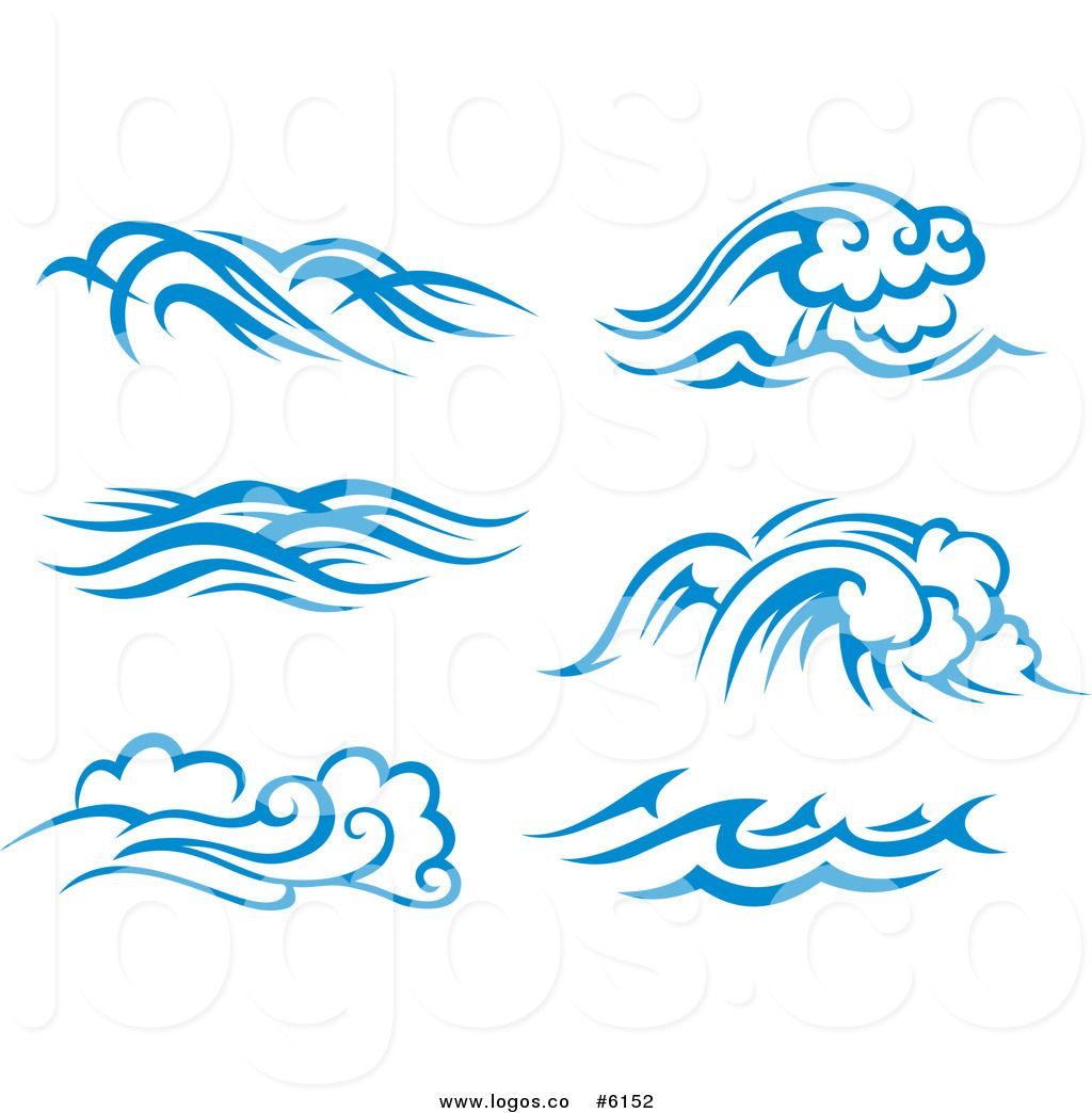 Royalty free clip art. Waves clipart small wave