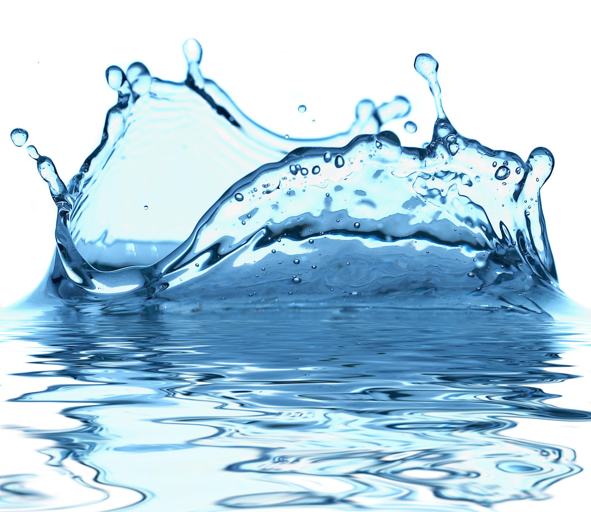 Water splash isolated stock. Waves clipart three