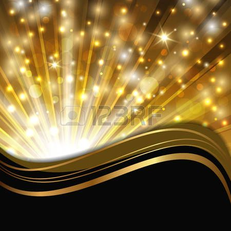 Light abstract shimmering background. Clipart wave star