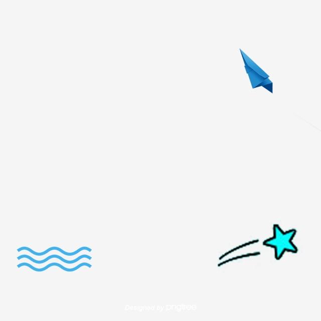 Clipart wave star. Creative paper aircraft wavestar