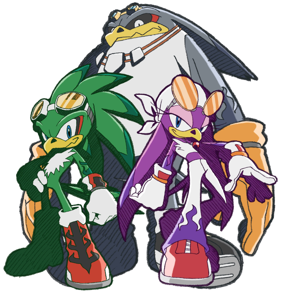 Clipart wave storm wave. Babylon rogues sonic news