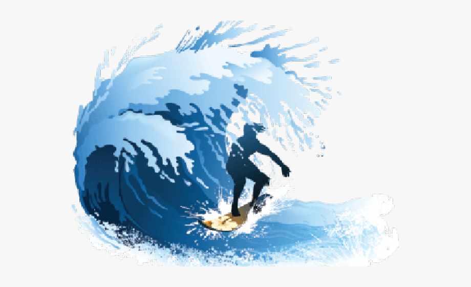 Clipart wave surf wave. Surfing free cliparts on