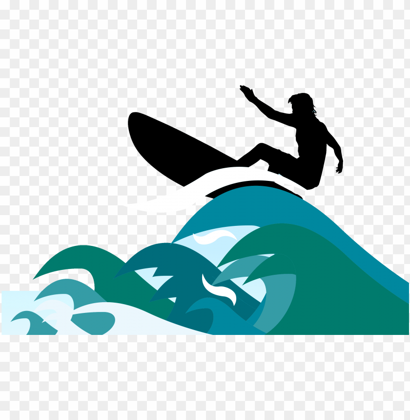 Surfing clip art a. Clipart wave surfboard