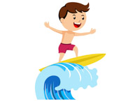 Clipart wave surfboard. Sports free surfing to
