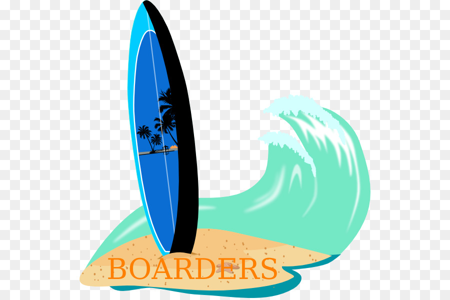 Wave cartoon surfing product. Waves clipart surfboard