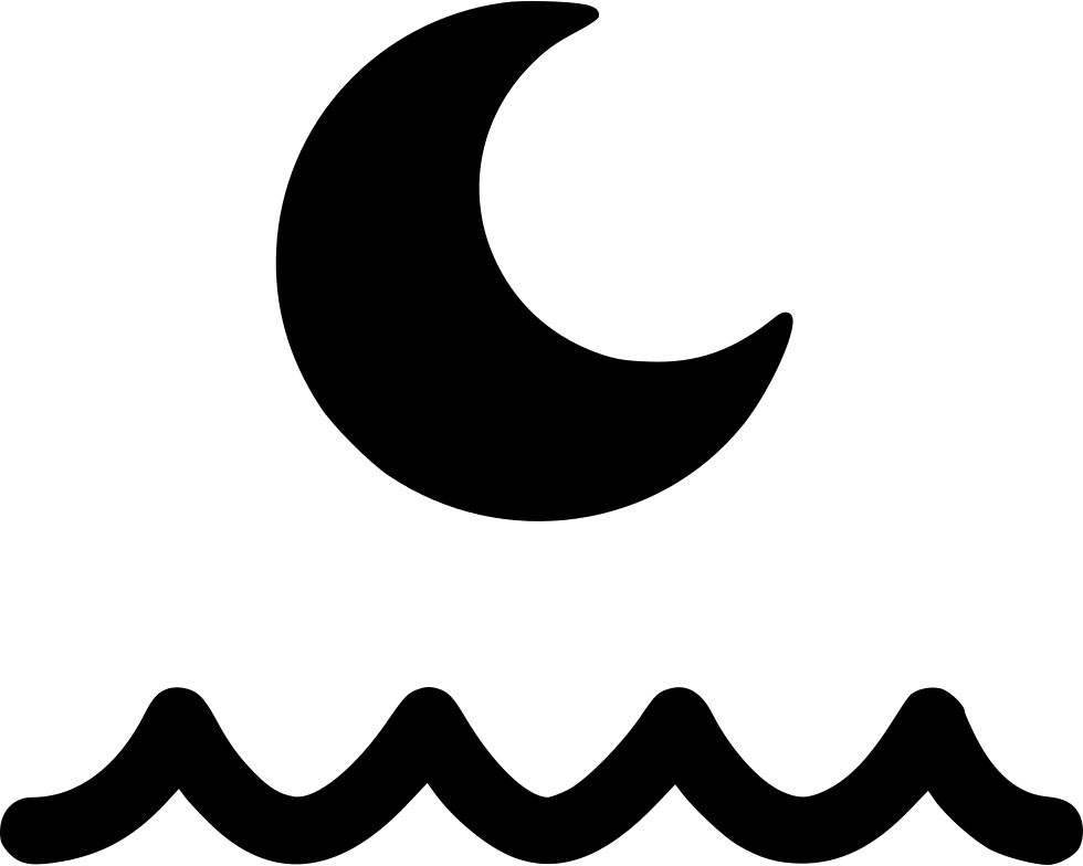 Moon png icon free. Clipart wave svg