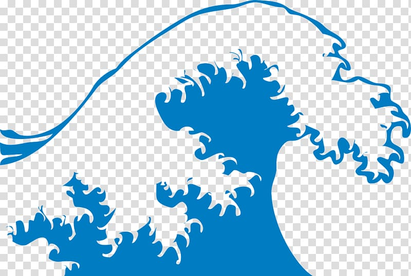 Ocean in nature wind. Clipart waves title wave