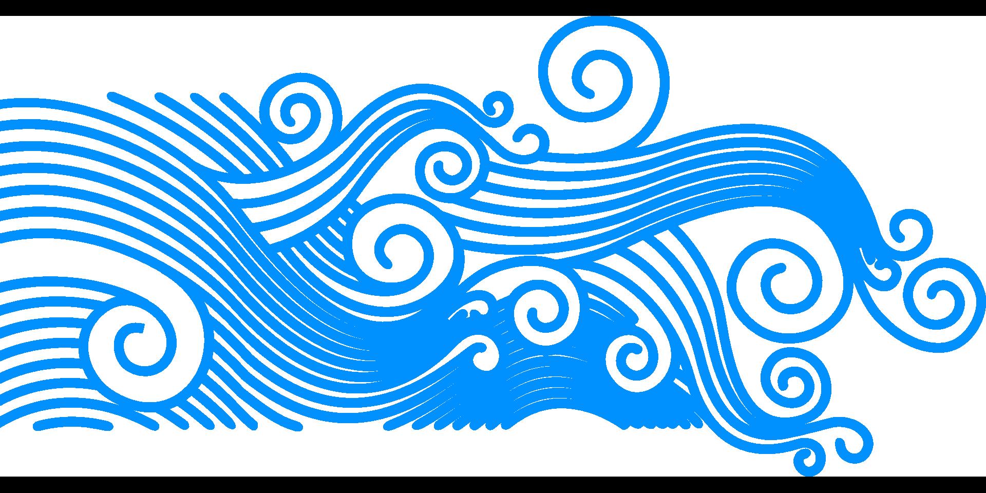 Wind sea clip art. Clipart wave tide