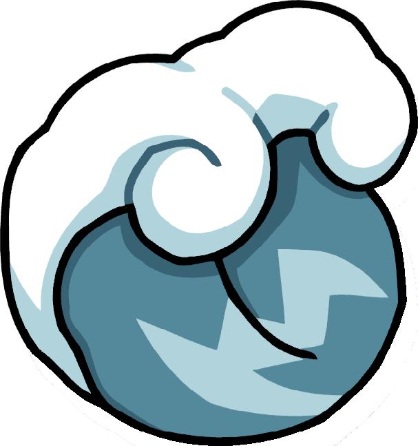 Flood scribblenauts wiki fandom. Clipart waves tsunami
