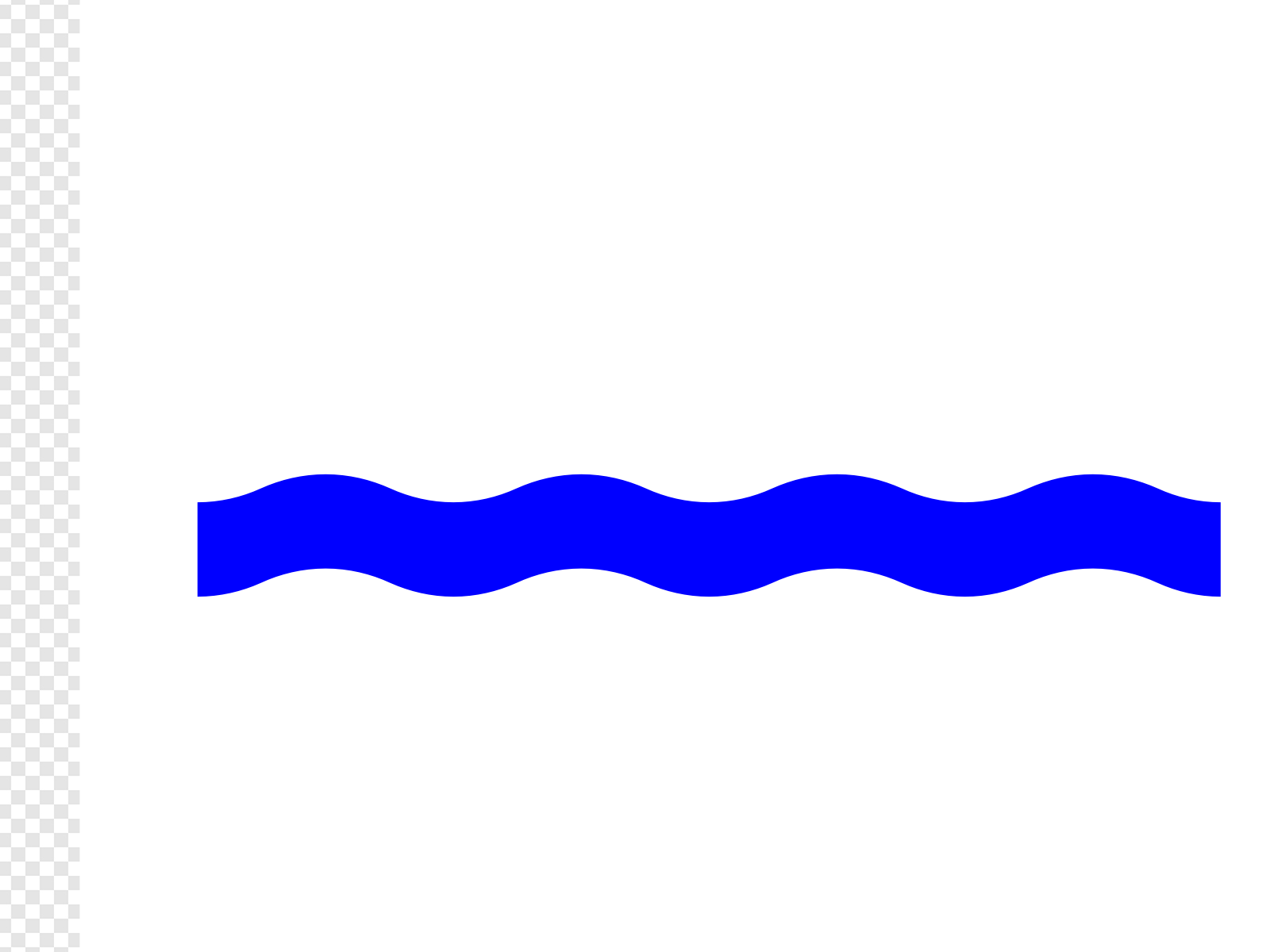 Wave blue clip art. Waves clipart waterline