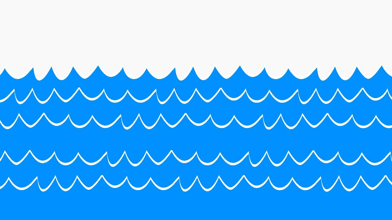 Waves clipart waterline. Wave blue clip art