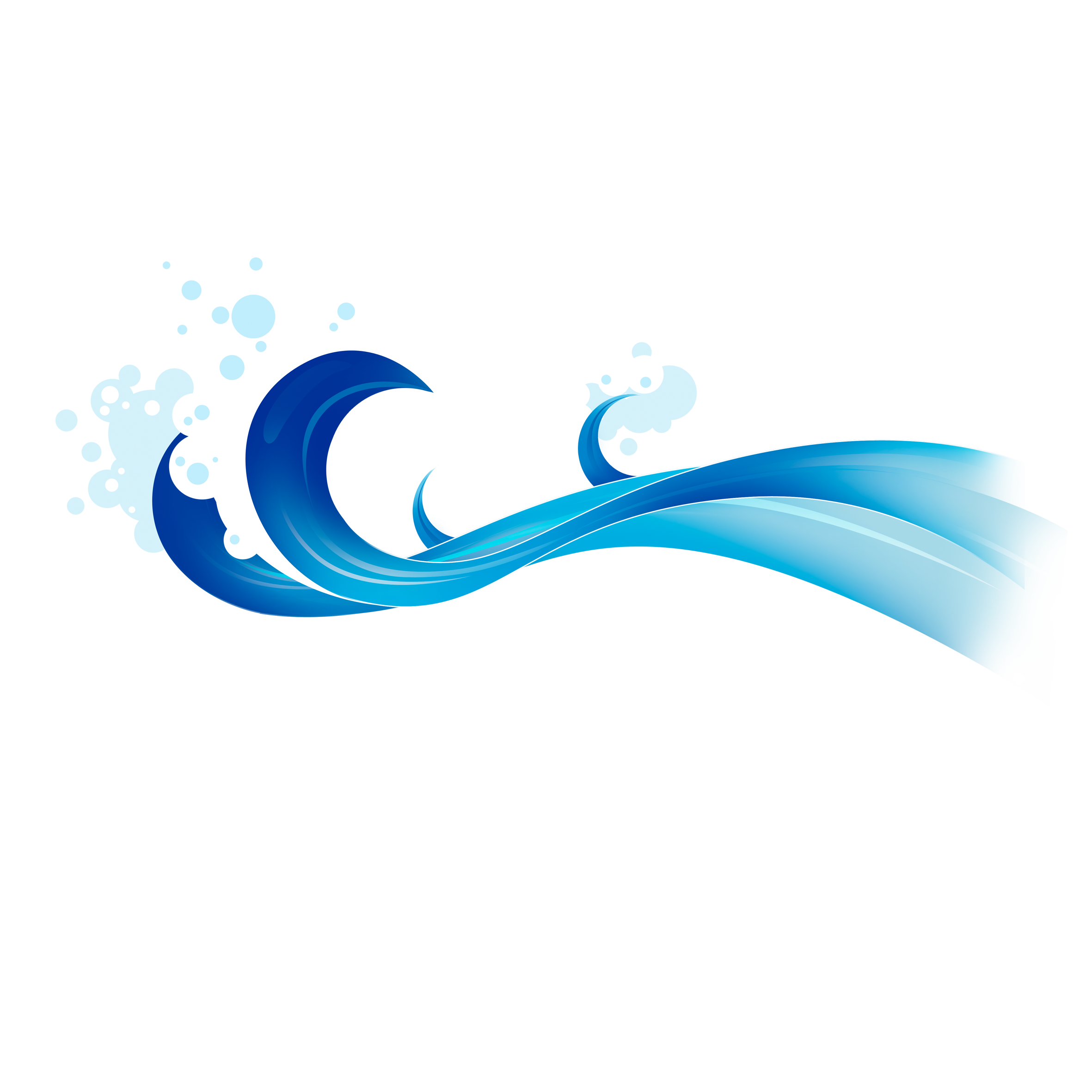 Waves clipart wave design. Blue clip art transprent