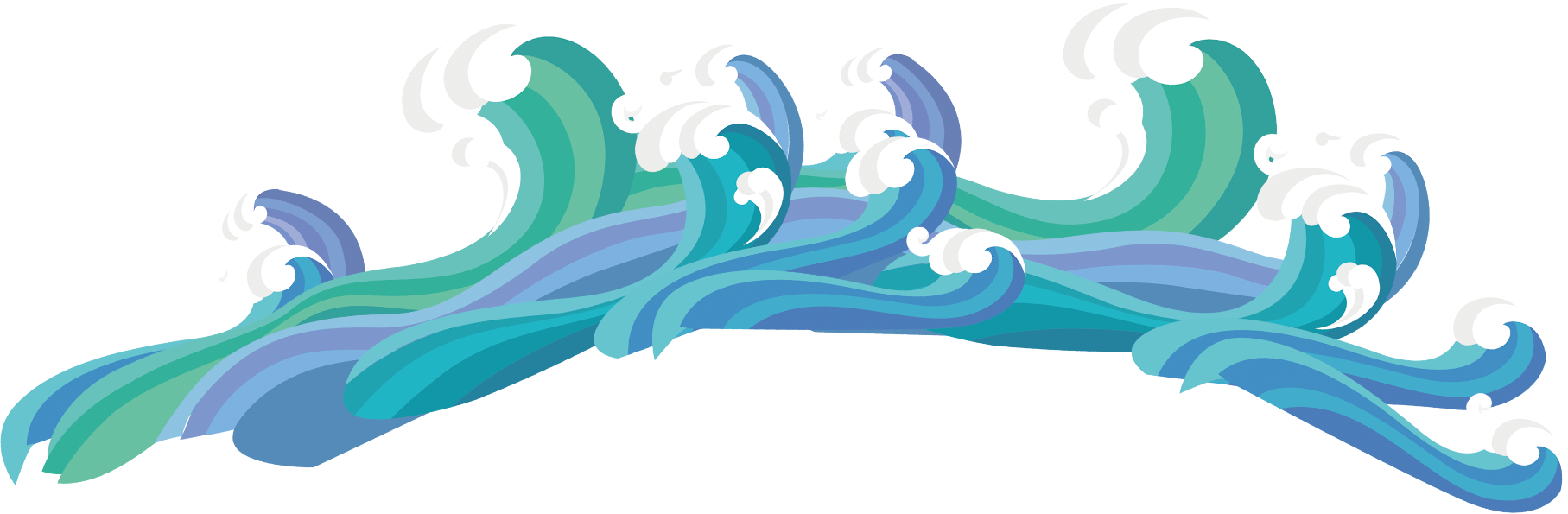 clipart wave wave drawing