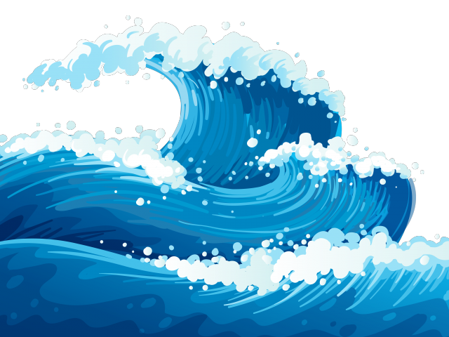 Clipart wave wave outline. Nautical waves cliparts free