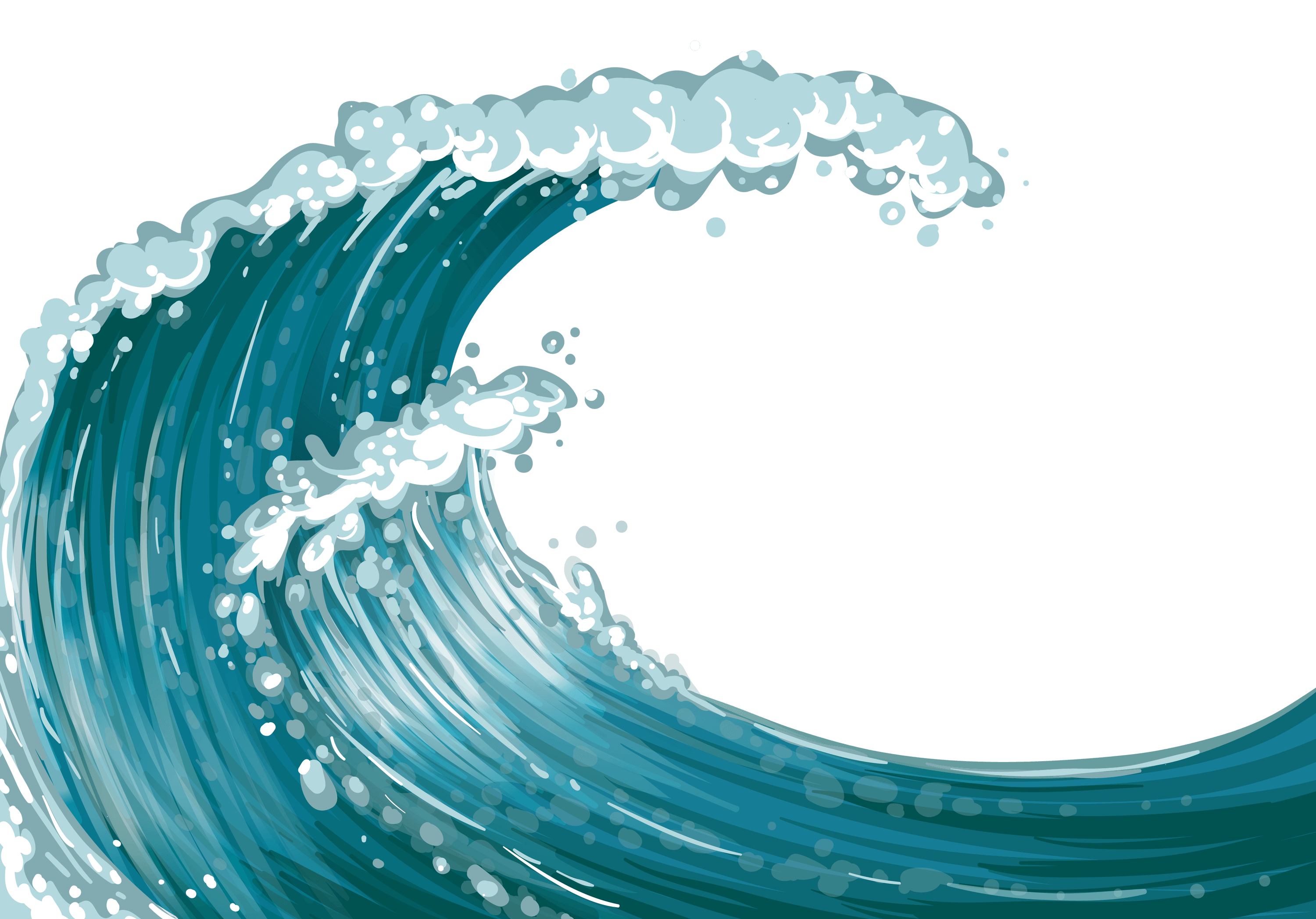 Wave transparent png stickpng. Waves clipart wipeout