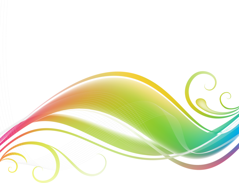 Colorful wave psd official. Waves clipart yellow