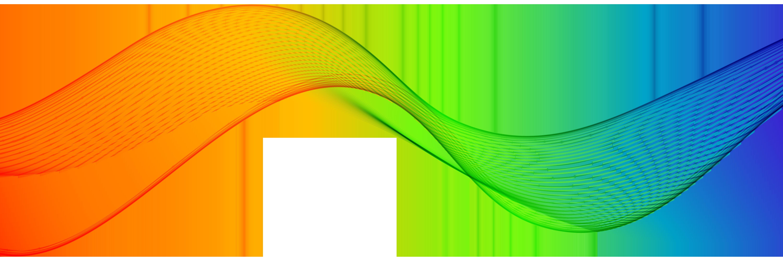 Colorful decoration transparent clip. Clipart wave yellow