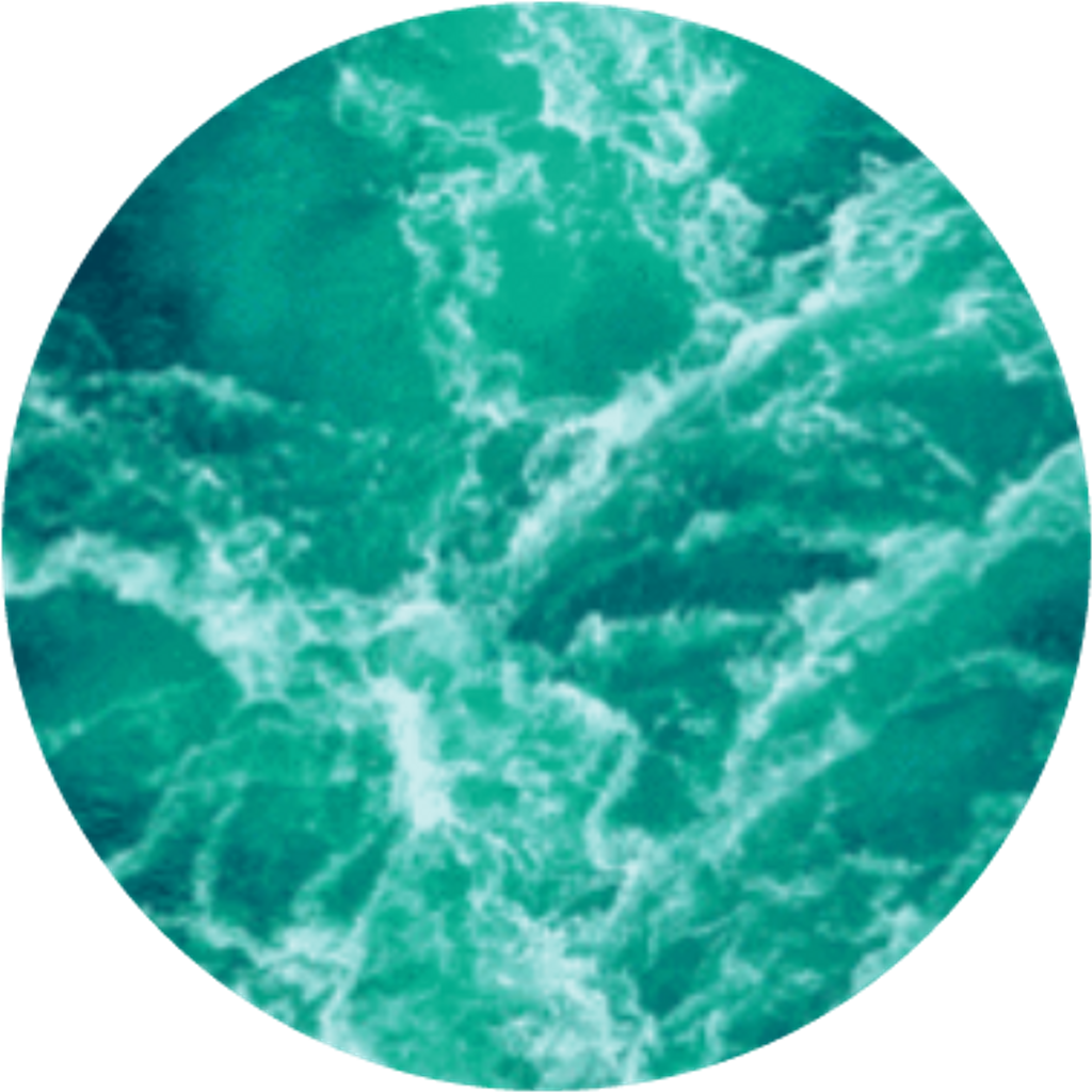Blue sea whitehorses aestheticcircle. Clipart waves aesthetic