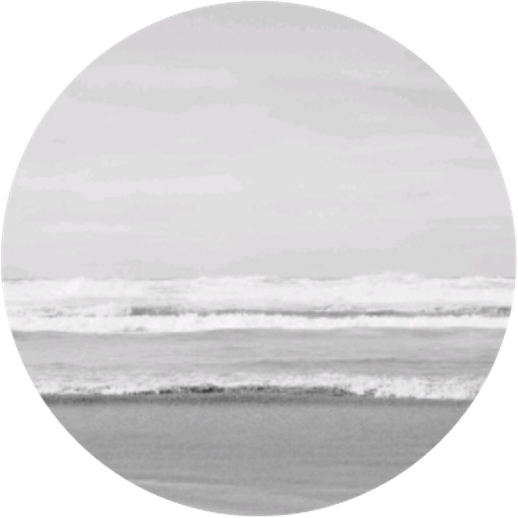 Clipart waves aesthetic. White circle aestheticcircle sea