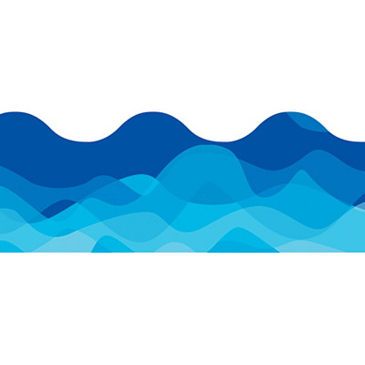 Waves clipart banner. Free wave border cliparts