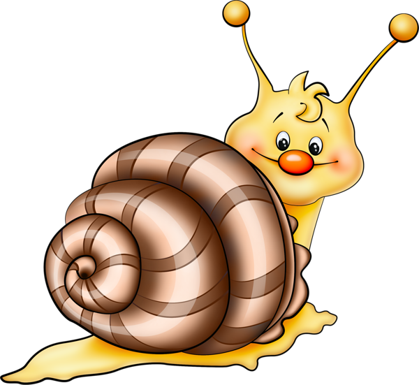 Brown snail cartoon png. Worm clipart animal crawl