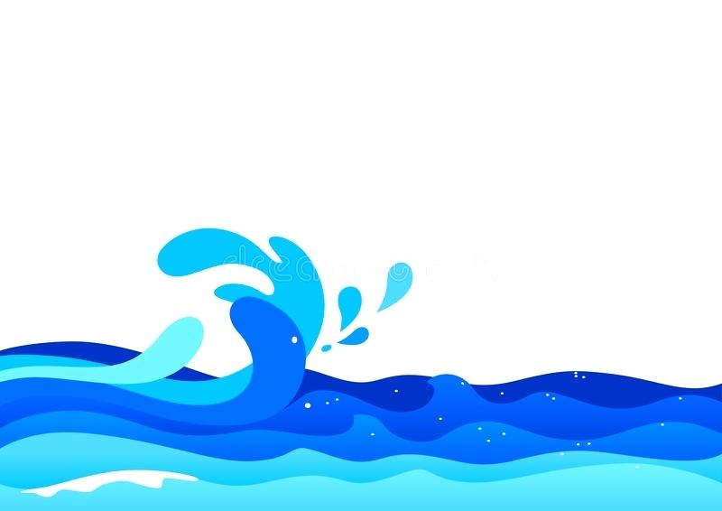 Wondrous water wave clip. Clipart waves cute