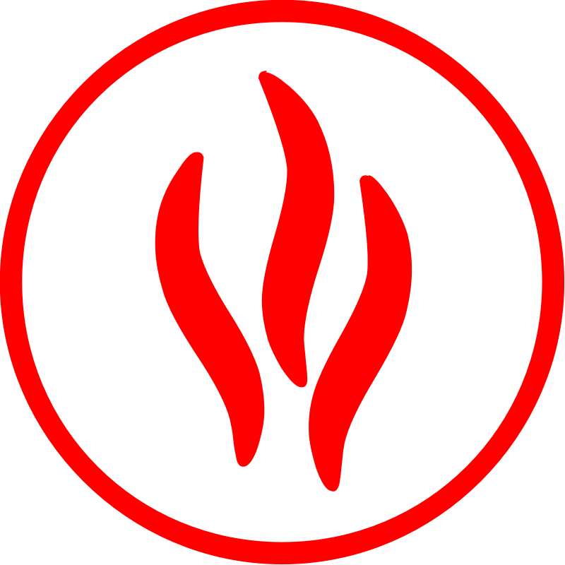 Clipart waves fire. Department icon emergency clip