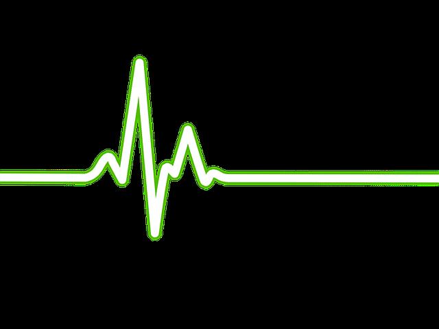 Heartbeat clipart heart rhythm. Free photo stethoscope ecg