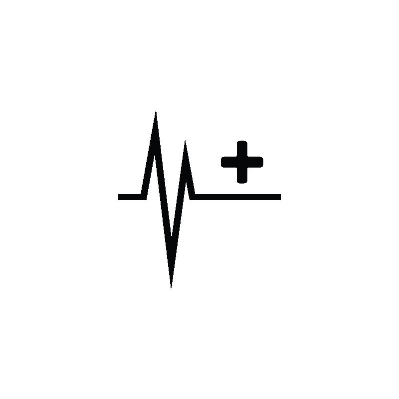 Line clipart heartbeat. Pulse cardiogram heart rate