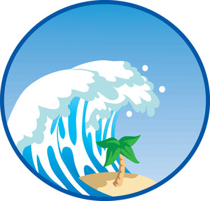 Clipart waves huge wave. Cartoon free download best