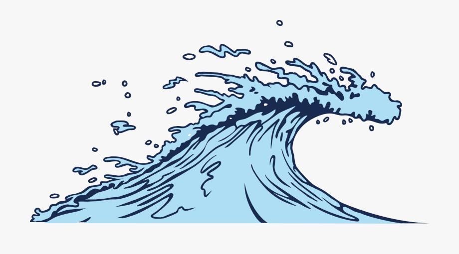 Wind clip art blue. Waves clipart sea wave