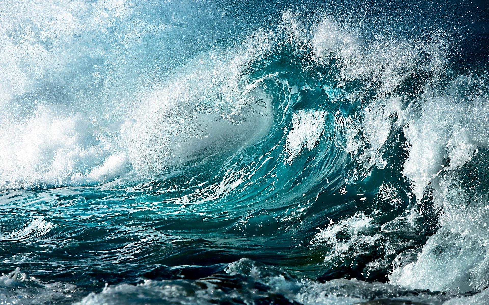 Clipart waves huge wave. Big blue clip art