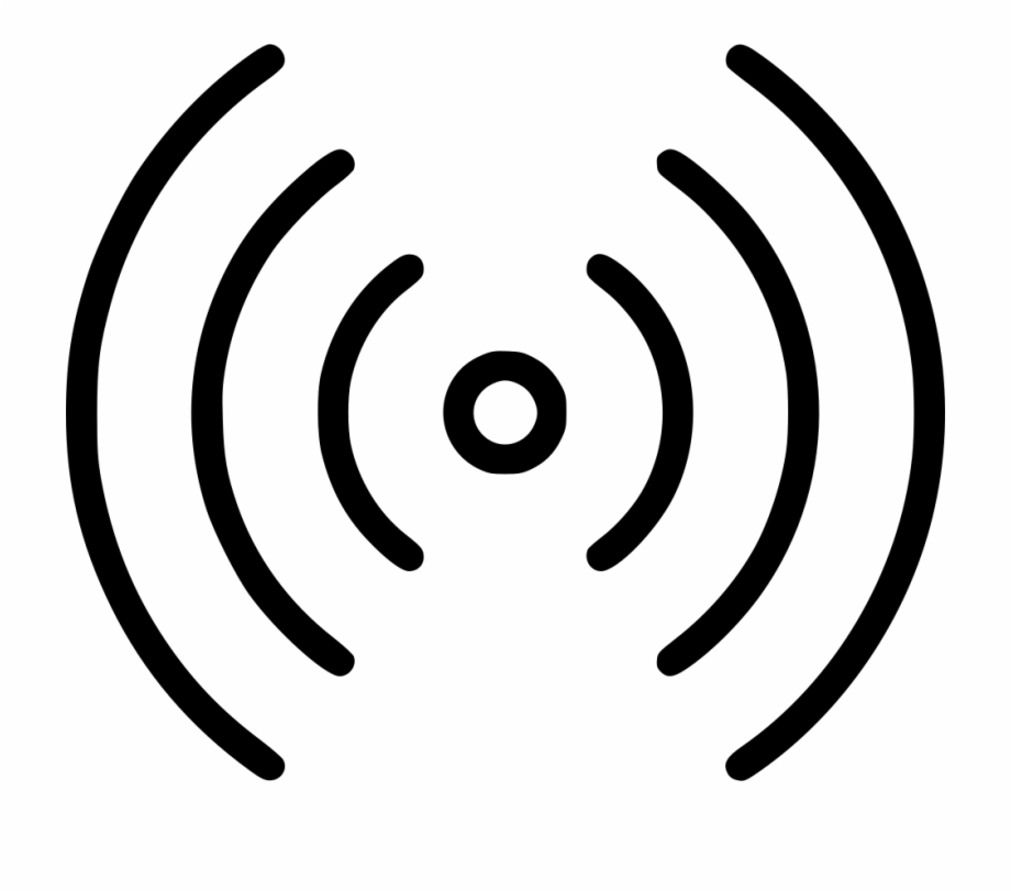Clipart waves radio. Wifi png wave icon