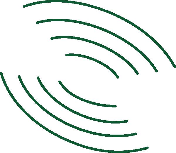 Green tilt clip art. Clipart waves radio