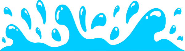 Waves clipart splash. Water clip art library