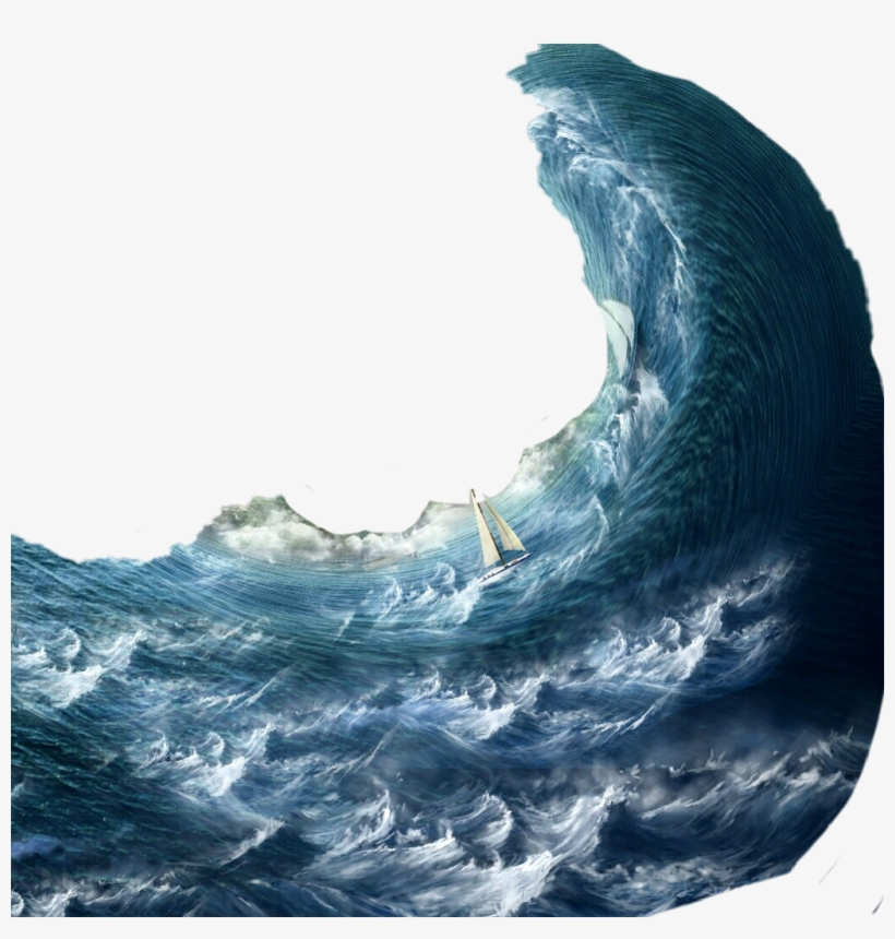 Svg library download boat. Waves clipart storm wave