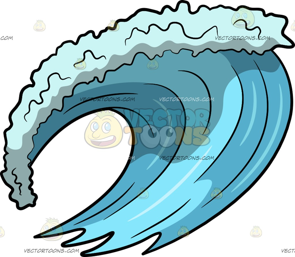 Cartoon ocean free download. Clipart waves surf wave