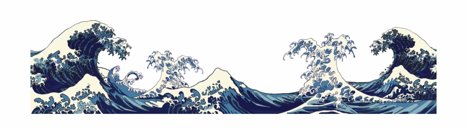 Waves clipart wave japanese. Png art free images