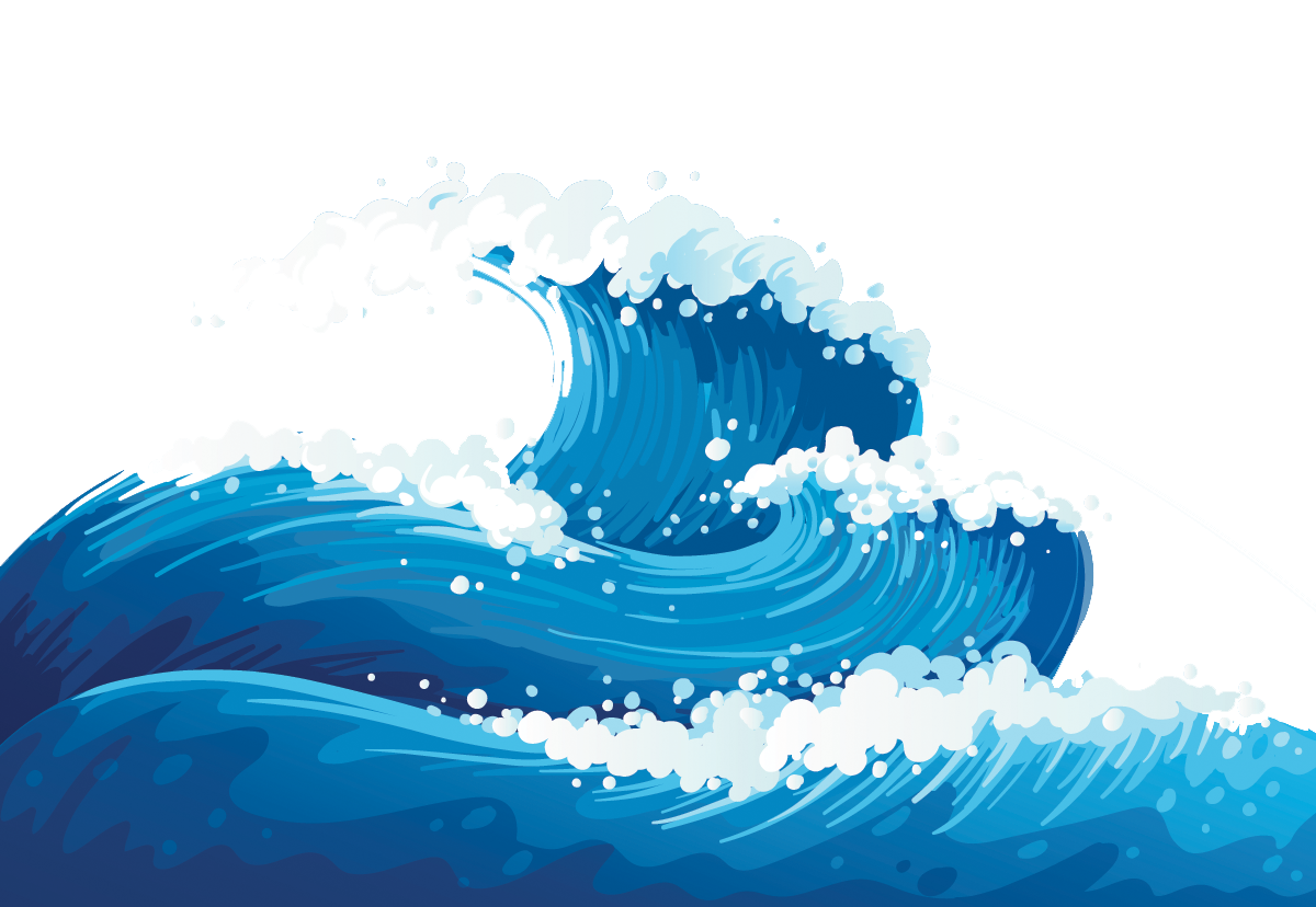 Mckenzie holland testing the. Waves clipart wave outline