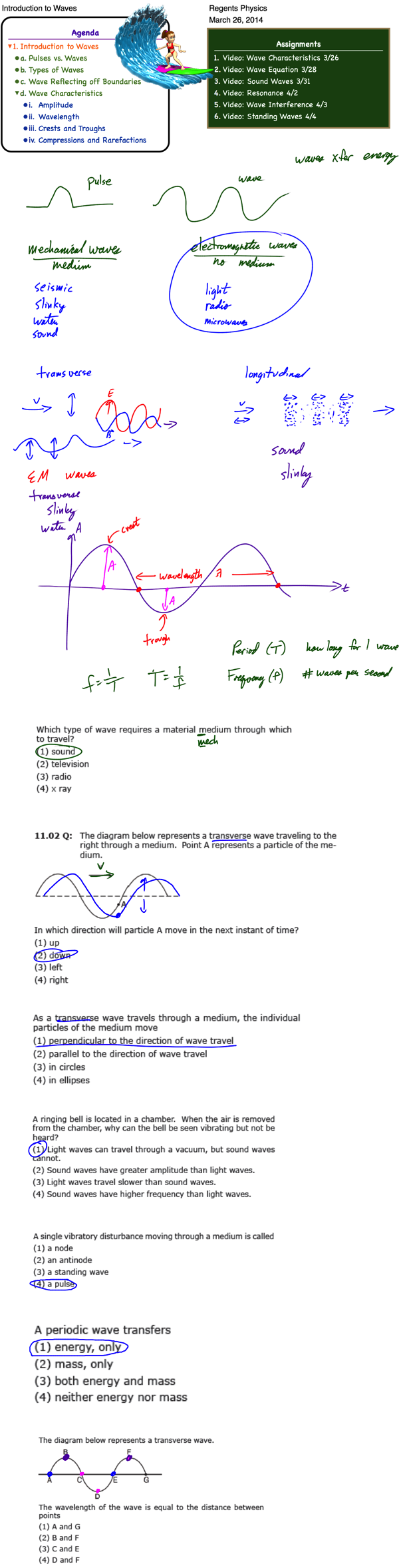 Amplitude archives regents posted. Clipart waves wave physics