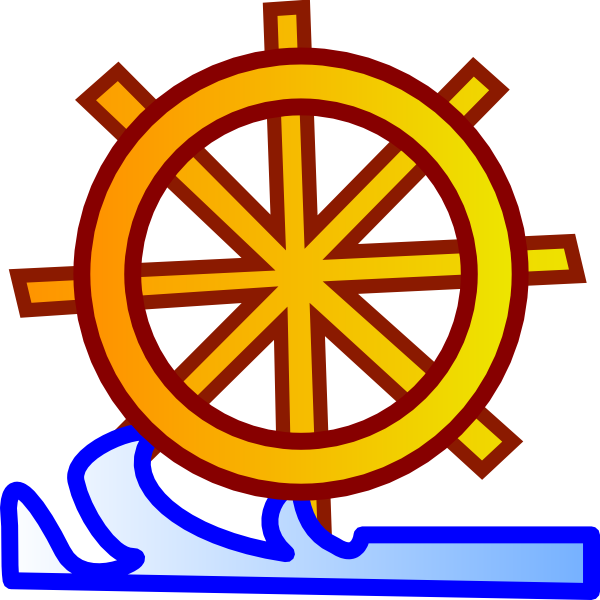 And ship wheel clip. Clipart waves yellow