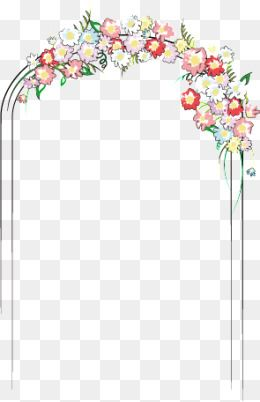 arches marry png. Clipart wedding archway